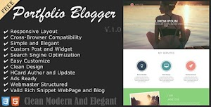 Graphista Blogger Template