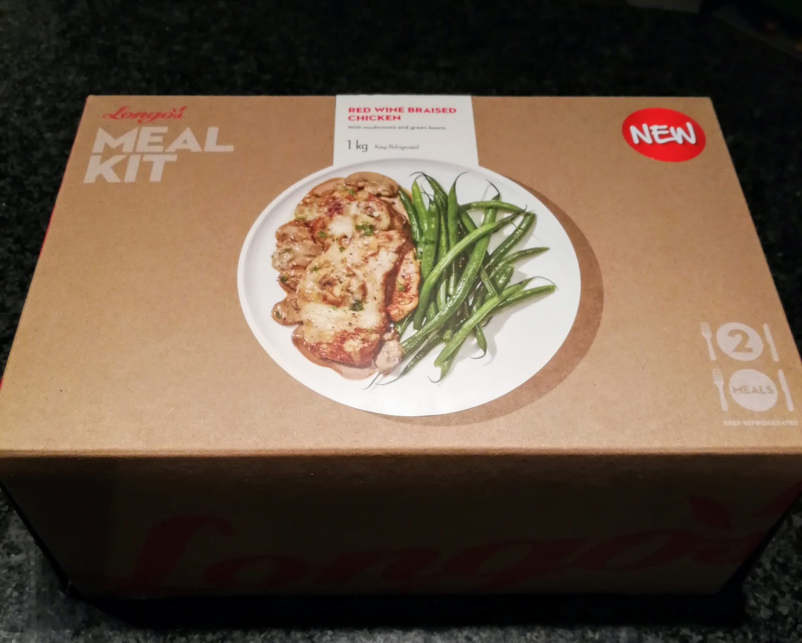Longos Red Wine Braised Chicken Meal Kits