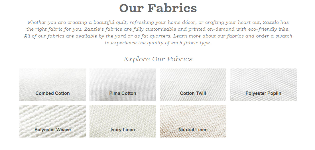 Live it   Love it   Make it : Design your own Fabric with Zazzle