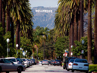 Los Angeles Hollywood Logo View