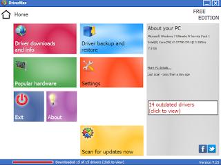 Download DriverMax 7.65
