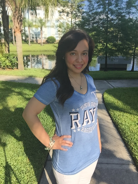 tampa bay rays women's shirt