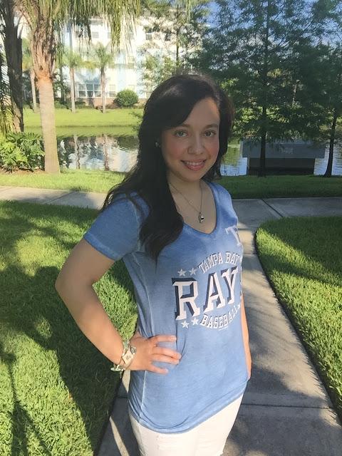 tampa bay rays women's shirt