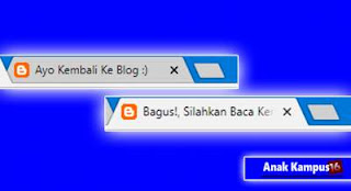 cara pasang Change Zeep Kodein di blog