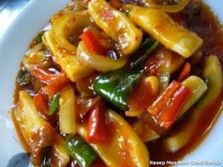 Resep Masakan Cumi Basah