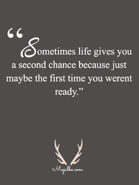 A Second Chance Love Quotes