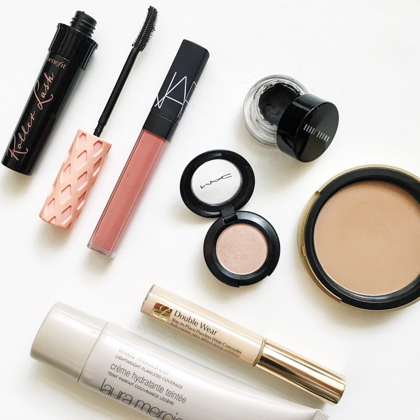 My favourite beauty products that have reached holy grail status from brands like NARS, MAC, Laura Mercier and Estée Lauder.