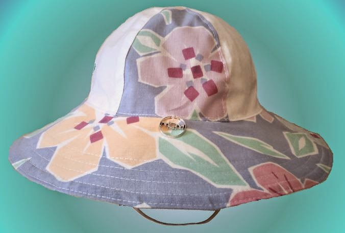 Lorenna Buck Designs Sun Hat crafted by eSheep Designs