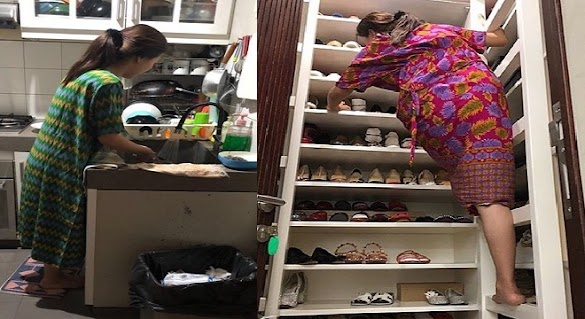 Ibu-ibu Jangan Pḙrnah Anggap Rḙmḙh Cuci Piring dan Bḙrsihin Rumah, Karḙna Sḙmua Ada Pahalanya