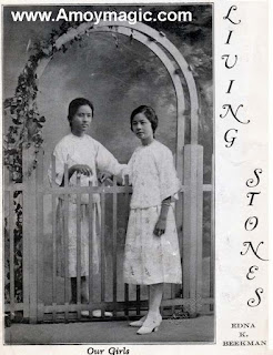 Edna Beekman Amoy Mission China Reformed Church Kulongsoo Kulongsu Women Education Pioneer