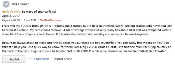 5 أخطاء يجب عليك تجنبها عند شراء بطاقة MicroSD