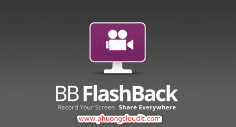 BB FlashBack Pro 5.28.0 Build 4309 - Quay màn hình máy tính