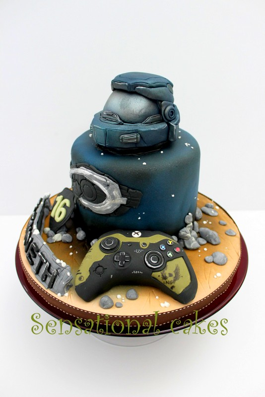 The Sensational Cakes MOST REAL 3D HALO THEME CUSTOMIZED CAKE
