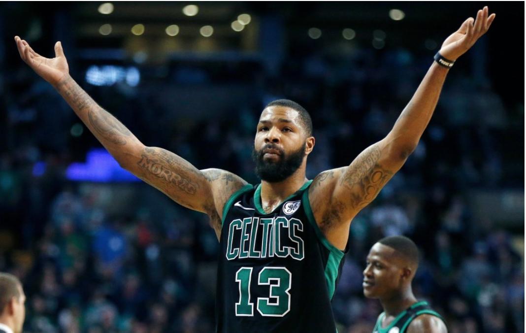new arrival 9db83 147a3 Celtics Life: Marcus Morris gives Celtics' bench a new nickname