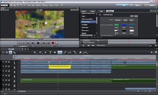 Tilt Shift Video Tutorial in Magix