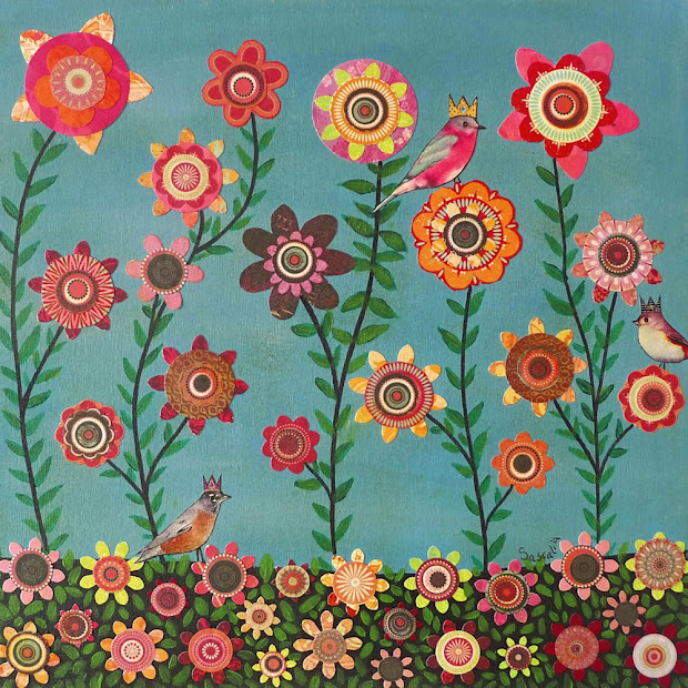 Spring Flowers Images Art Paintings