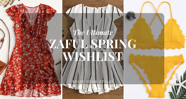 Zaful Spring Wishlist