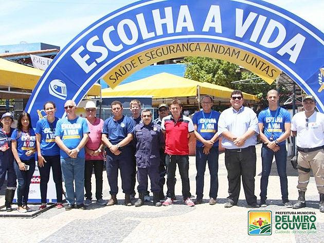 Em Delmiro Gouveia, SMTT intensifica ações da Campanha Educativa que visa diminuir número de vítimas no trânsito