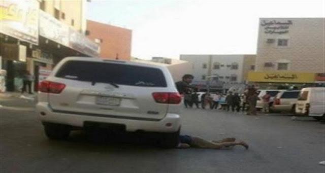 محدث : شاهد عيان يكشف السبب الحقيقي لقتل 4 سعوديين لمصري دهسا بالسيارة في الرياض بالسعودية
