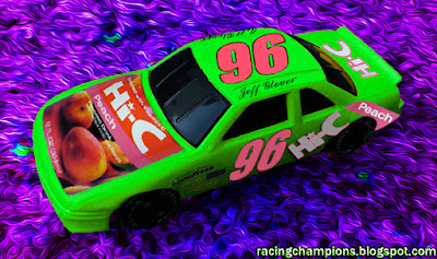Jeff Glover #96 Hi-C Racing Champions 1/64 NASCAR diecast blog custom