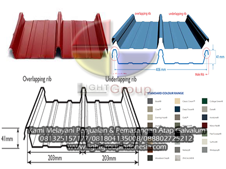 Light Group Indonesia ATAP ROOFING WALLING ZYNCALUM