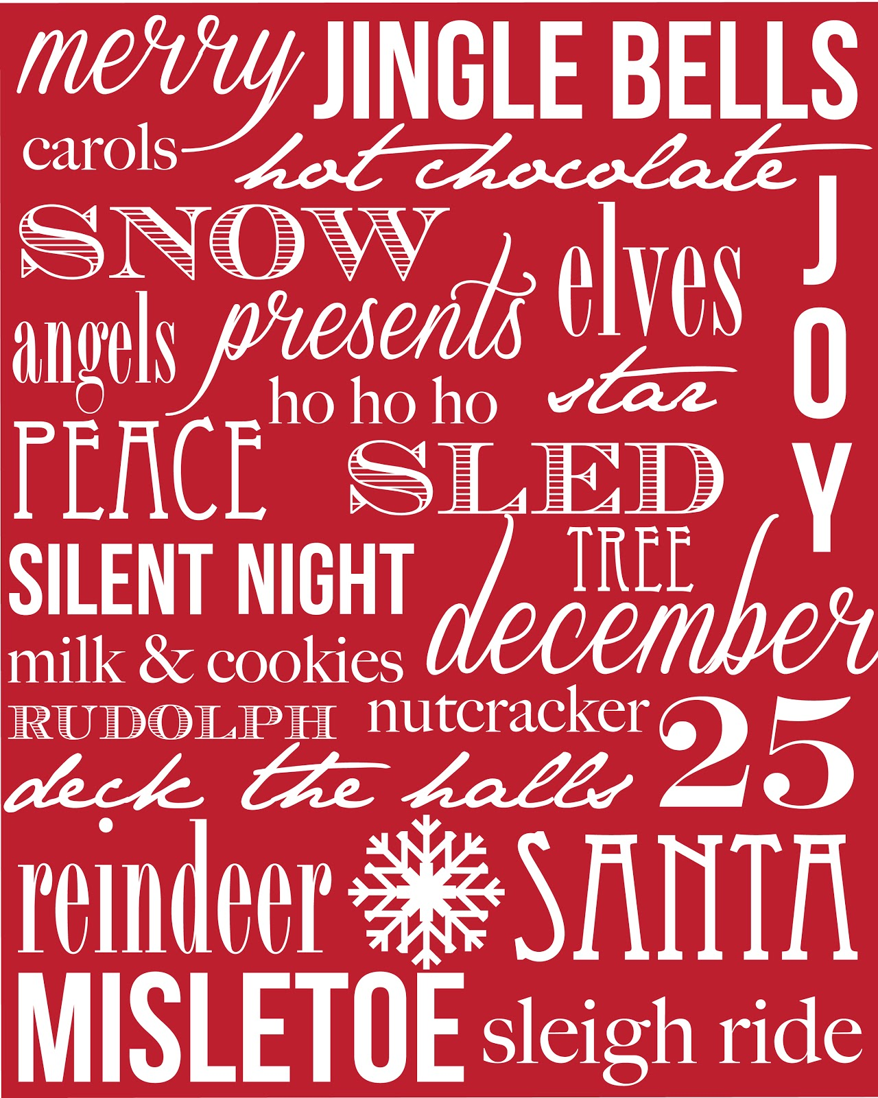 Golden Style Book Free Christmas Printables