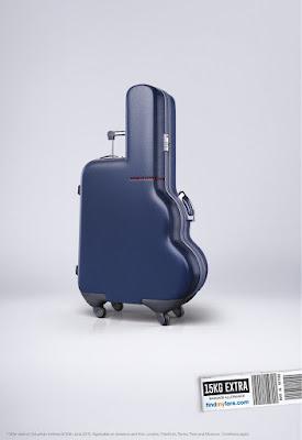 Manipulación digital y maletas con extra equipaje.