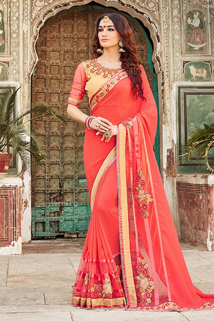 Sari Sri Lankais Especially For Modern Girls - Sari Info-6613