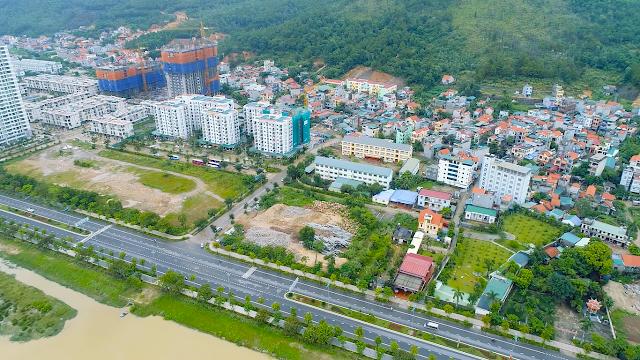 Hình ảnh thực tế một góc khu Hạ Long Marina