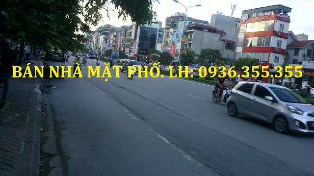 Bán nhà mặt phố Trần Duy Hưng giá rẻ