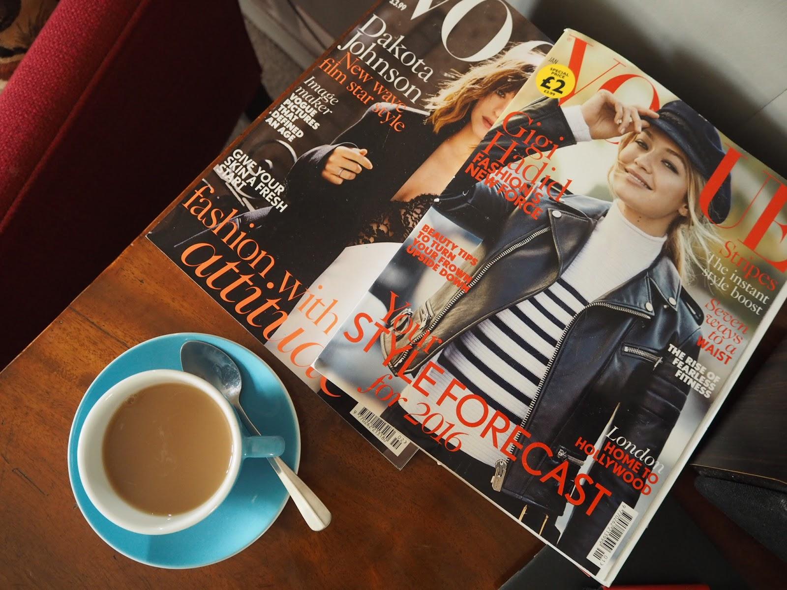 cup of tea vogue magazine