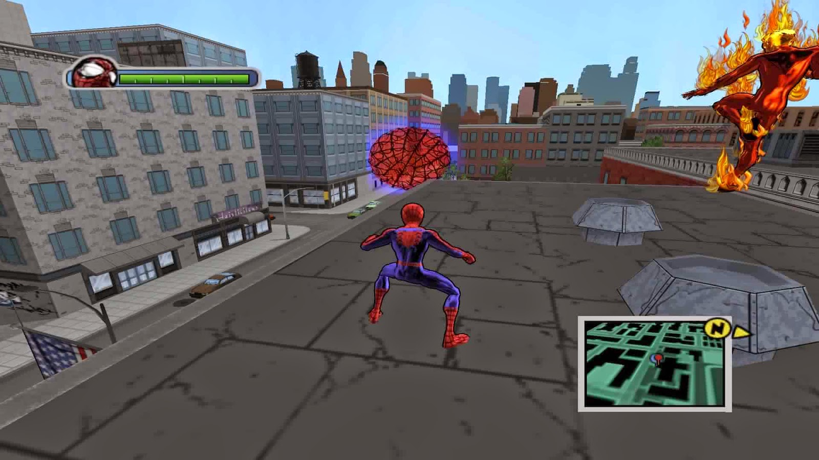Ultimate spider man game hellopcgames.