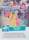 MLP Wave 21 Orange Swirl Blind Bag Card