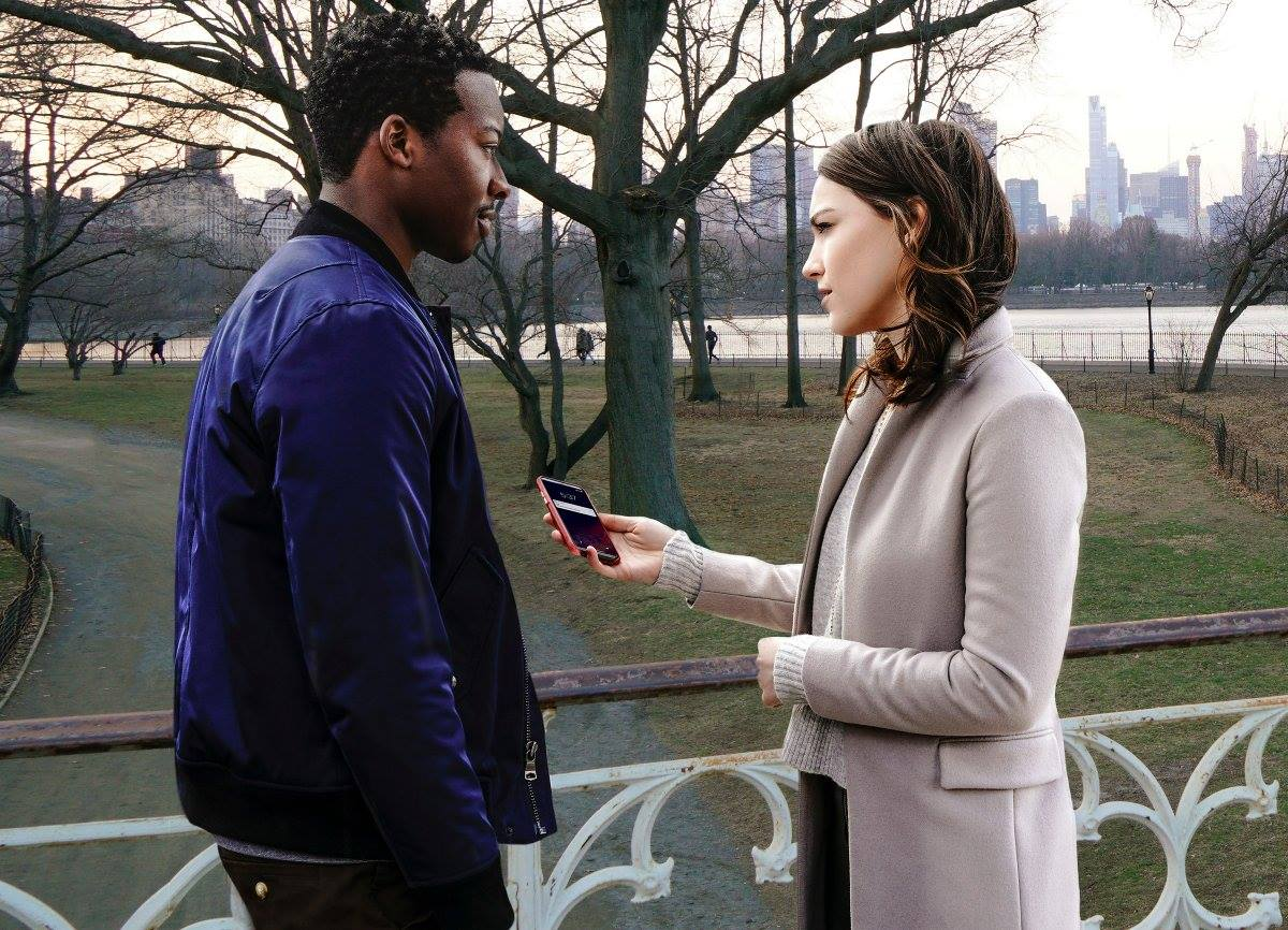 Fotograma de la nueva serie de CBS, God friended me