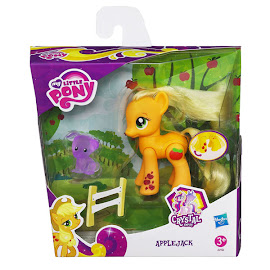 My Little Pony Crystal Motion Wave 1 Applejack Brushable Pony