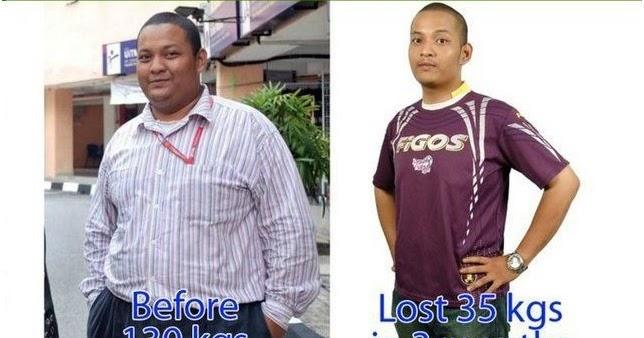 10 Amalan Diet Untuk Kurangkan Berat Badan 30 KG 6 Bulan