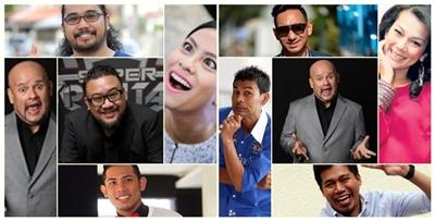 10 Pelawak Terbaik Malaysia