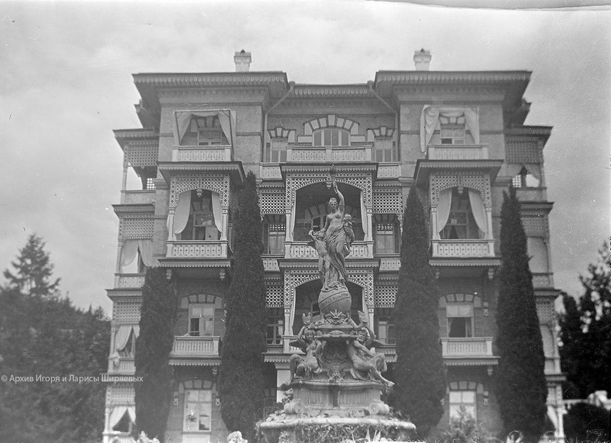 Старое фото Крыма. Дворец
