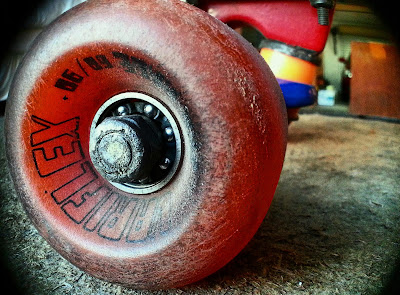 Mark Jansen Adelaide Skateboarding Retro Wheels