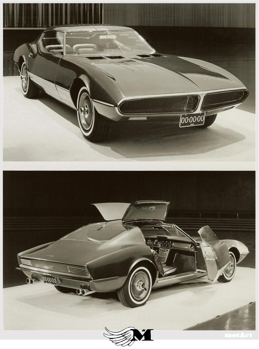 Pontiac Banshee Concept Car