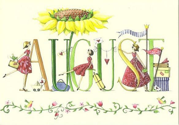 Seja Bem-vindo Agosto