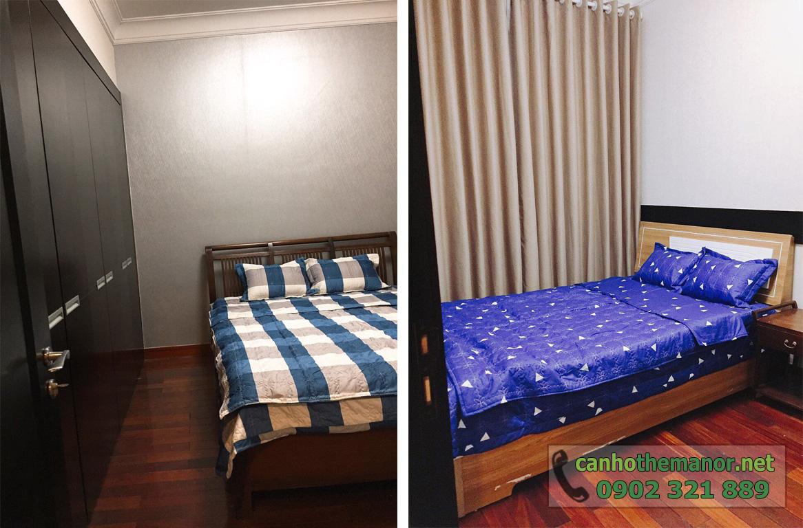 The Manor 1 HCM cho thuê căn hộ 100m2 3PN  - phòng ngủ 1 và 2