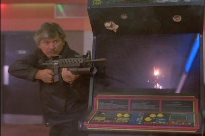 Salón de arcade película Yo soy la justicia