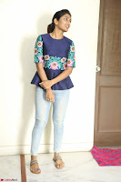 Eesha Looks super cute stunning in Denim Jeans and Top at Darsakudu movie Inerview ~  Exclusive 004.JPG