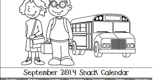 Mrs. Pullen's Kindergarten Class: September 2014 Snack