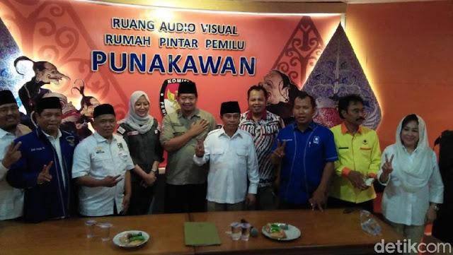 Yakin Menang, Mantan Pangdam-Kapolda Jatim Perkuat Timses Prabowo-Sandi