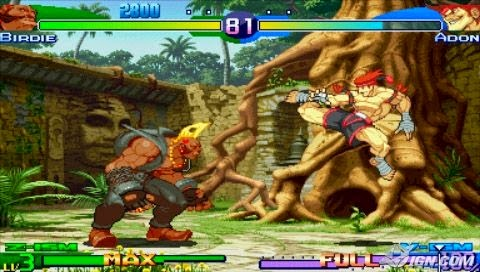 Street Fighter Alpha 3 MAX (USA) ISO PPSSPP Android