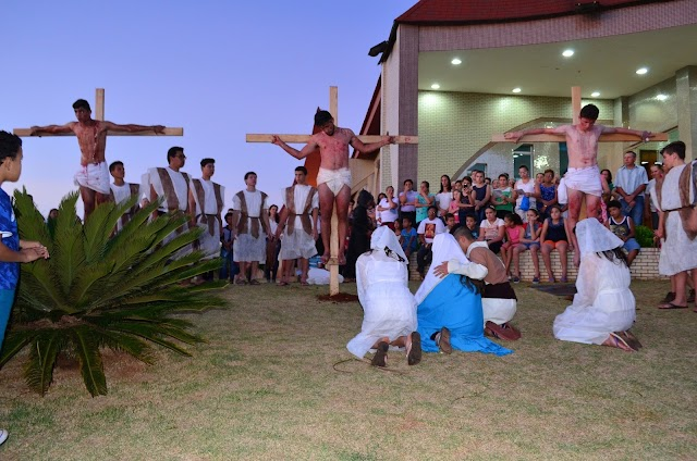 Paixão de Cristo em Roncador emociona público presente