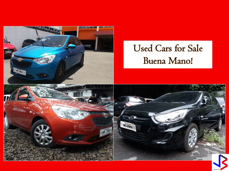 Looking for second-hand cars or used cars for sale? If yes you should consider used cars for sale from Buena Mano! There are a lot of used cars you can choose from different brands! We all know that buying a brand new car is very expensive nowadays. So if you are looking for cars that come with a much cheaper price compare to brand news, check for used cars for sale from different banks or financial institution! There are many affordable cars but still in good condition you may consider!  Pictures and information on this article are taken from the bank's website —buenamano.ph. Jbsolis.net is not affiliated nor connected with the institution. This post is for general purposes only. Any interested parties may directly contact the institution or contact numbers given below.