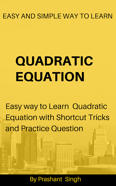 Quadratic Equation,easy way to solve equation